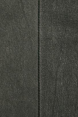Zero Maria Cornejo Leather pencil skirt
