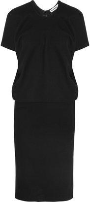 Jil Sander Stretch wool-blend dress
