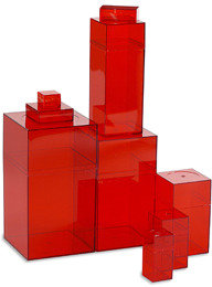 Container Store Amac Box Red