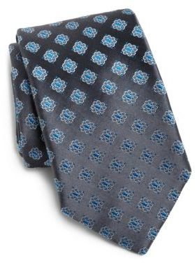 HUGO BOSS Floral Silk Tie