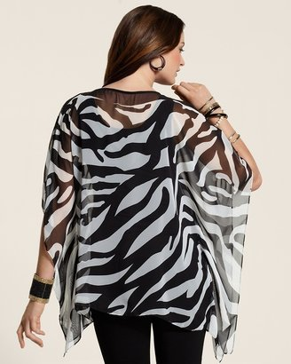Peri Zebra Poncho