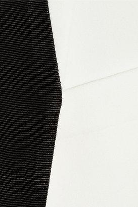 Karl Lagerfeld Blanche crepe blazer