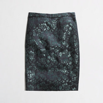 J.Crew Factory Factory pencil skirt in floral brocade