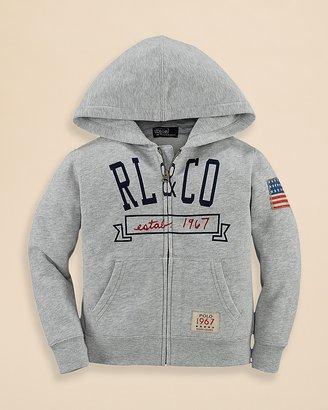 Ralph Lauren Boys' Fleece Hoodie - Sizes 2-7