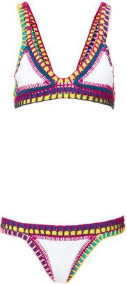 Kiini White Crochet Yaz Bikini $300 thestylecure.com