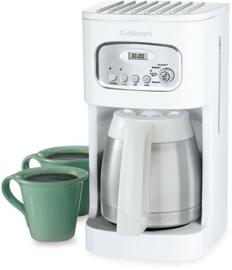 Cuisinart Thermal 10-Cup Programmable Coffee Maker in White
