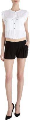 A.L.C. Pleat Front Shorts