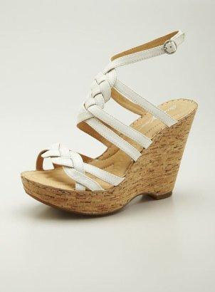 Born Crown Kaspin High Platform Wedge Sandal