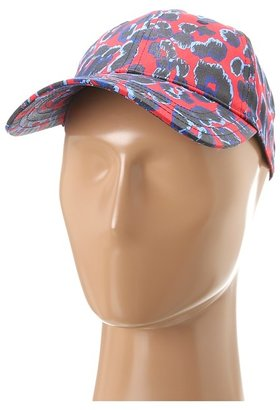 Juicy Couture Red Leopard Baseball Cap (Red Ginger) Caps