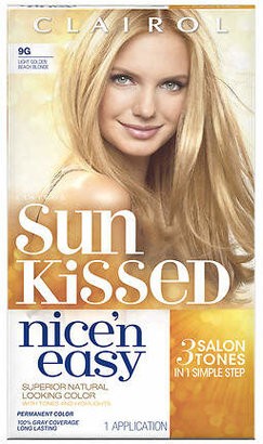 Clairol Nice 'n Easy with Color Blend Technology Permanent Natural Light Golden Blonde 9G/102G