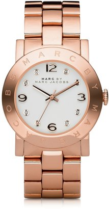 Marc by Marc Jacobs Amy 36.5mm Rose Stainless Steel Bracelet Watch $200 thestylecure.com