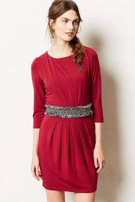 Tart Ruched Ecarlate Dress