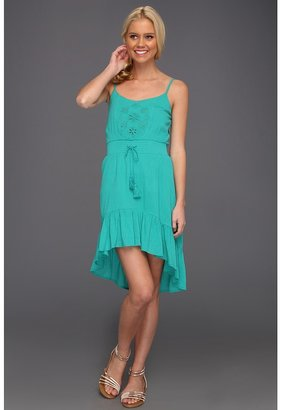 Roxy Without Notice Dress (Dynasty Green) - Apparel