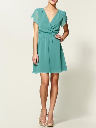 Tinley Road Tulip Sleeve Mini Dress