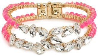 BaubleBar Pink Roxy Bracelet