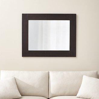 Crate & Barrel Jaxon Rectangular Wall Mirror