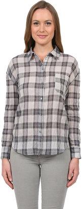 Elizabeth and James Carine Shirt in Grey