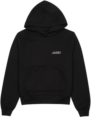 Amiri Black Printed Cotton-jersey Sweatshirt