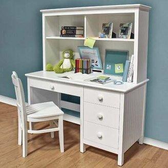 Dakota Epoch Design Solid Wood Computer Desk with Hutch Epoch Design