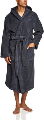 Schiesser Men's Bademantel mit Kapuze Bathrobe