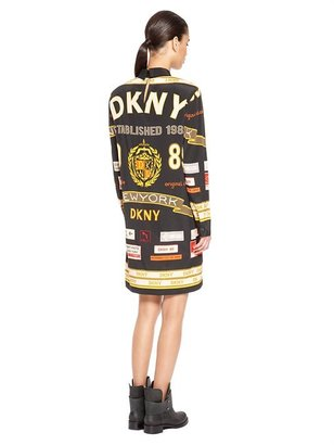 DKNY Print Shirt Dress