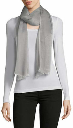 Calvin Klein Frayed Chambray Scarf