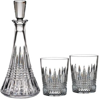 Waterford Lismore Diamond Cut Lead Crystal Decanter and Tumblers Set