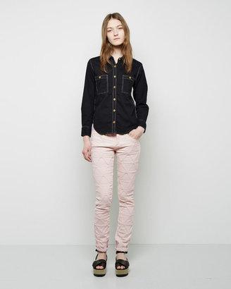 Isabel Marant Stanford Origami Skinny Jeans