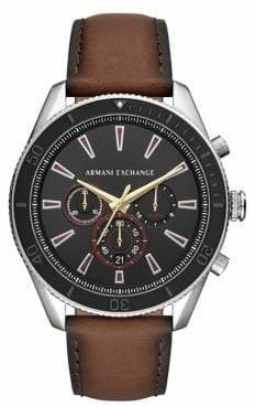Armani Exchange Enzo Stainless Steel Chronograph Watch