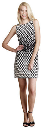 Donna Morgan Black and White Dress