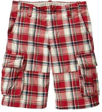 Gap Plaid cargo shorts