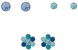 GUESS 82075592 (Blue/Silver) Earring