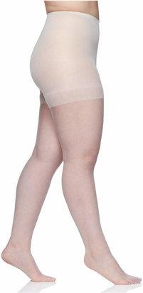 Berkshire Women Plus Size Ultra Sheer Control Top Pantyhose, 4411