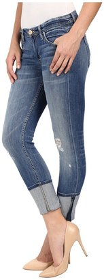 Hudson Muse Crop w/ 5 Cuff in Indie Women's Jeans