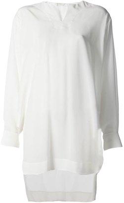 Chloé v-neck tunic blouse