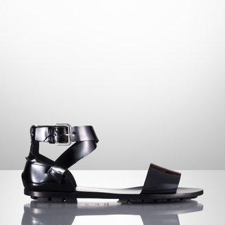Ralph Lauren Mabel Patent Flat Sandal