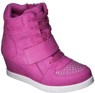 Girl's Cherokee® Harmony Casual Sneaker Wedge - Pink