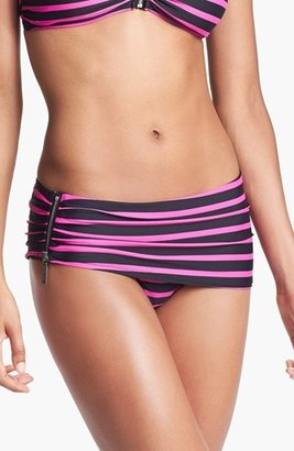 MICHAEL Michael Kors Skirted Bikini Bottoms