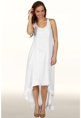 Kenneth Cole New York - Maxi High-Lo Dress W/Seaming (White) - Apparel