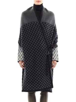 Missoni Chequerboard wool cardigan