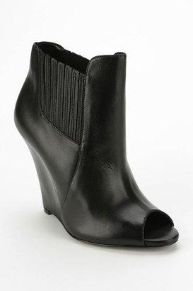 Schutz Peep-Toe Wedge Ankle Boot