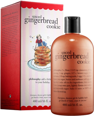 philosophy Spiced Gingerbread Cookie Shampoo, Shower Gel & Bubble Bath