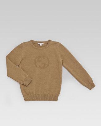 Gucci GG Knit Crewneck Sweater