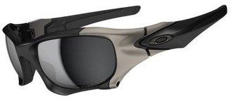 Oakley Pit Boss II Asian Fit - Matte Black Frame-Black Iridium Polarized Lenses