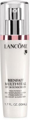 Lancôme BIENFAIT MULTI-VITAL SPF 30 LOTION 24-hour Moisturizing Lotion Antioxidant and Vitamin Enriched Broad Spectrum SPF 30 Sunscreen, 1.7 oz