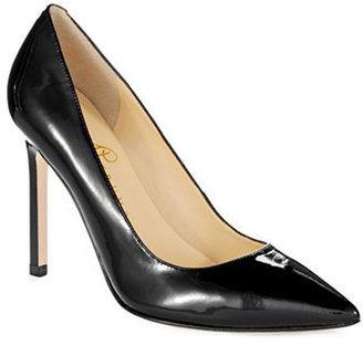 Ivanka Trump Carra Pointed-Toe Leather Pumps