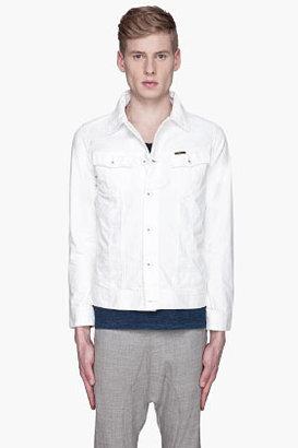 G Star G-STAR White denim Slim Tailor jacket