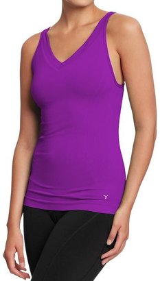 Old Navy Women's Active by Seamless V-Neck Tanks