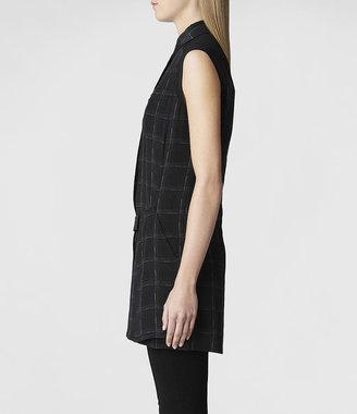 AllSaints Flannel Danica Tunic