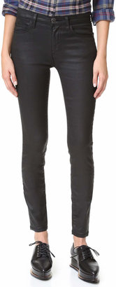 Current/Elliott The High Waist Ankle Skinny Jean $188 thestylecure.com